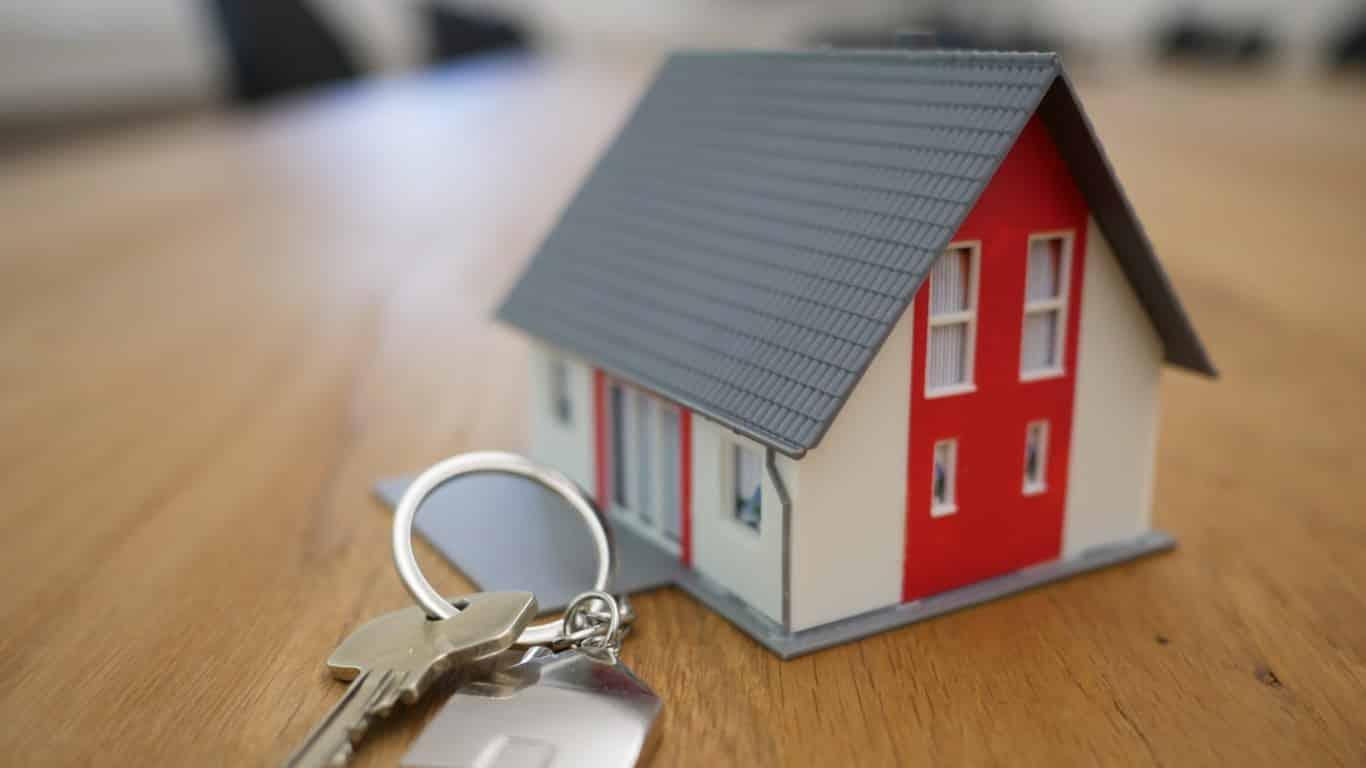 Porte clé maison
